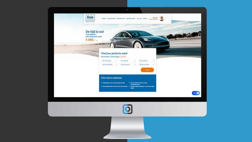 Website project Fair Autolease | Digifresh